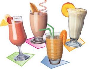 """Коктейль """"Формула 1"""" представлен в четырёх замечательных вкусах: """"Французская ваниль"""", """"Голландский шоколад"""", """"Лесная ягода"""" и """"Тропические фрукты""""!"""